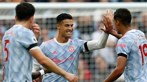West Ham vs Man United: Ronaldo có bàn thắng thứ 4 cho Quỷ đỏ