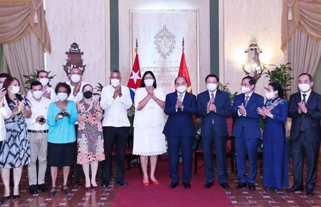 Chủ tịch nước khẳng định tình cảm đặc biệt của Việt Nam dành cho Cuba