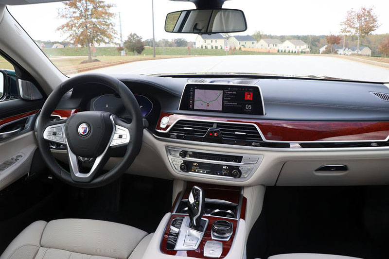 10. BMW Alpina B7.