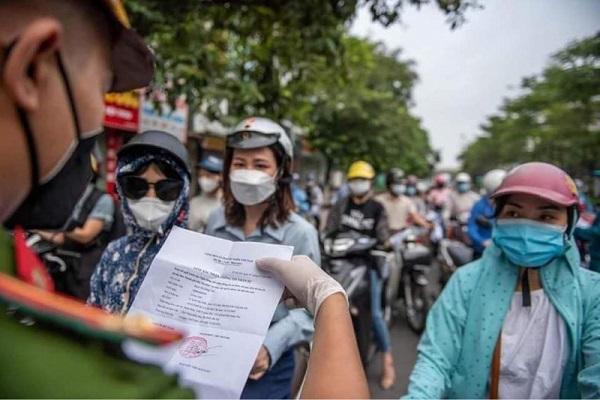 Hà Nội không kiểm soát giấy đi đường từ 6h ngày 21/9