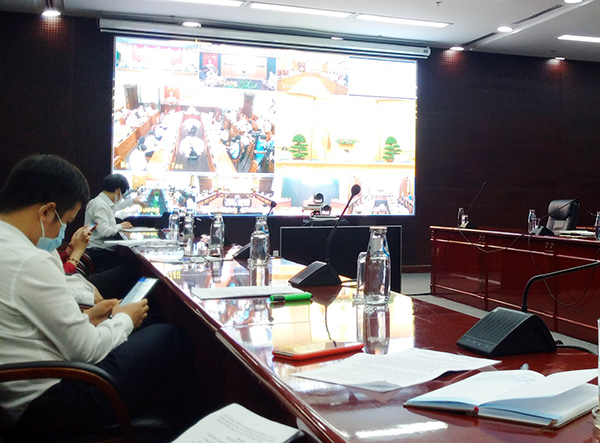 Đầu cầu Đà Nẵng tham dự hội nghị trực tuyến ngày 20/9 của Chính phủ nhằm tháo gỡ khó khăn, phục hồi hoạt động của các doanh nghiệp KCN