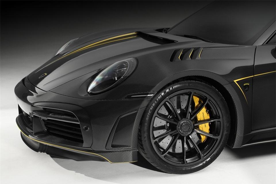 Porsche 911 Turbo S với gói độ trị giá 162.000 USD - Hình 4