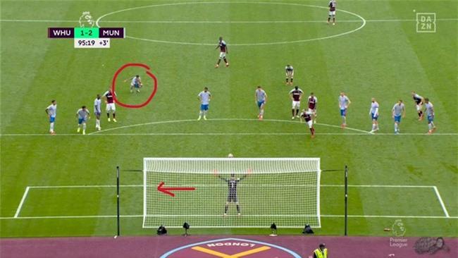 Ronaldo chỉ hướng bắt 11m cho De Gea