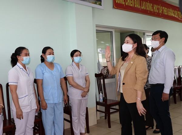Phó Chủ tịch nước biểu dương tinh thần phòng, chống dịch của tỉnh Đồng Tháp