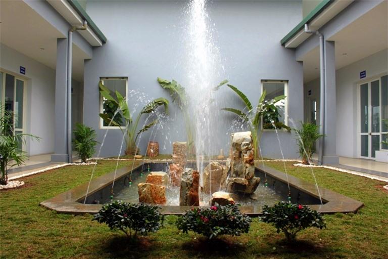Đài phun nước mang nguồn tài lộc vào gia đình bạn