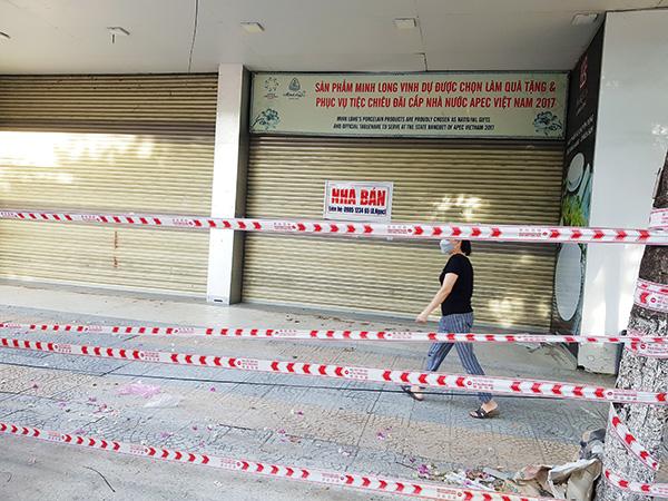 Rất nhiều doanh nghiệp trên địa bàn Đà Nẵng đã phải ngừng hoạt động, treo biển bán nhà do ảnh hưởng của dịch COVID-19