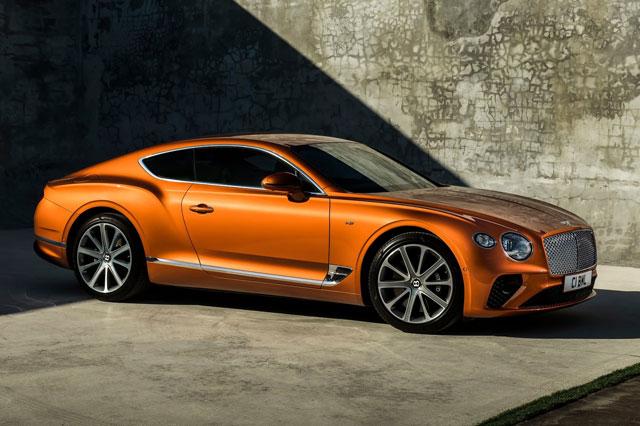 1. Bentley Continental GT 2021.