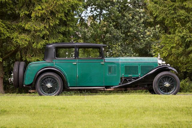 10. Bentley Speed 6 1928.