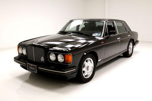 2. Bentley Turbo-R.
