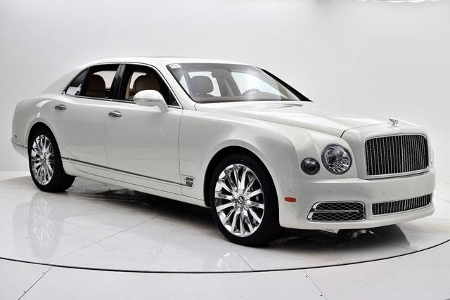 4. Bentley Mulsanne 2020.