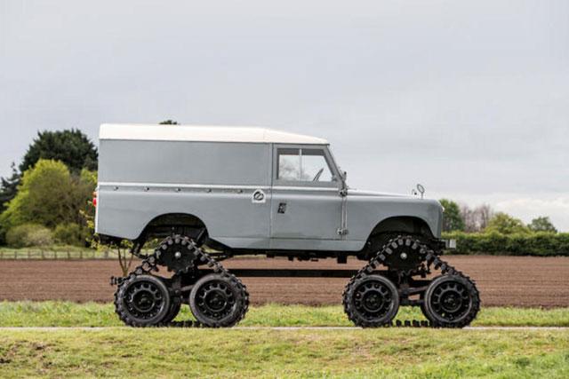 Những chiếc Land Rover đặc biệt trên thế giới