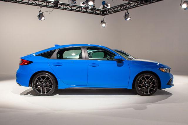 Hé lộ giá bán Honda Civic Hatchback 2022