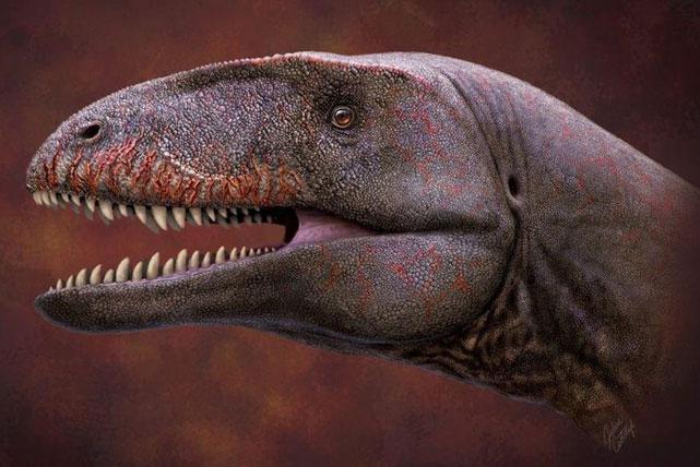 Phát hiện khủng long răng cá mập khổng lồ từng sống ở Uzbekistan