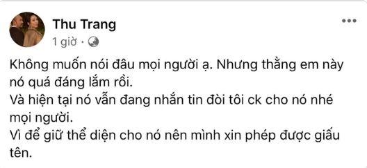 Bài đăng Thu Trang.