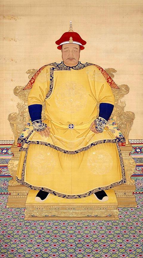 Chân dung Sùng Đức Đế Hoàng Thái Cực. Hình ảnh: Wikipedia