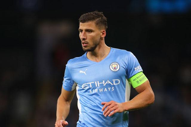 Trung vệ: Ruben Dias (Manchester City).