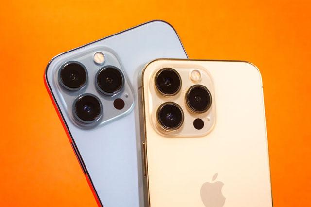 Trên tay iPhone 13 Pro và iPhone 13 Pro Max vừa lên kệ