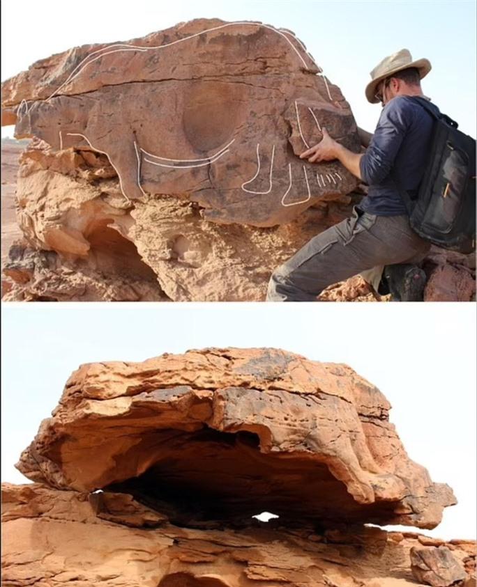 Nền văn minh vượt thời gian 8.000 năm trước hiện ra giữa sa mạc - Ảnh 3.