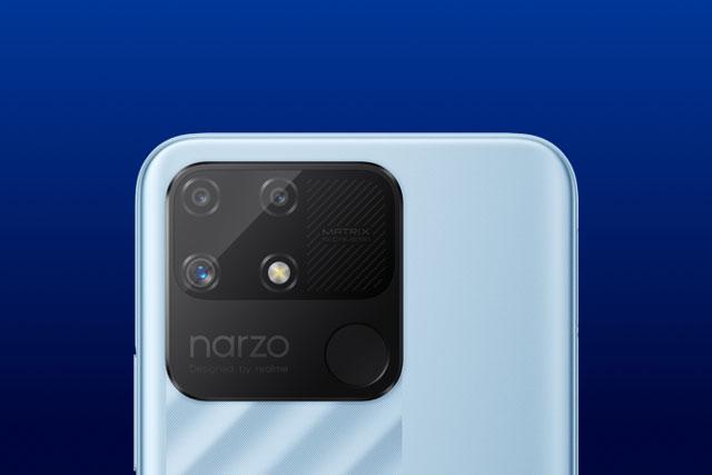Realme ra mắt smartphone RAM 4 GB, pin 6.000 mAh, 3 camera sau, giá hơn 3 triệu