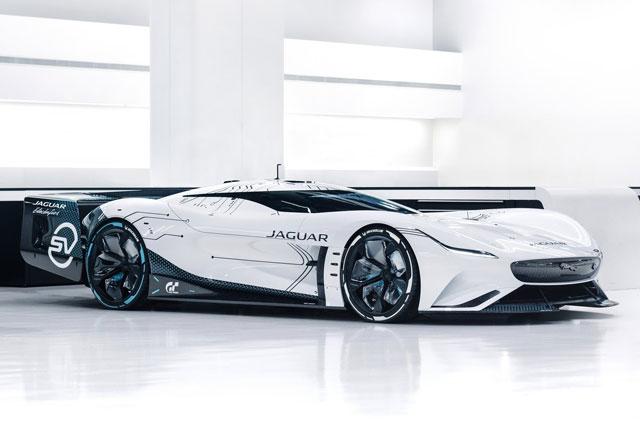 1. Jaguar Vision Gran Turismo SV.