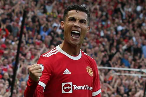 2. Cristiano Ronaldo (M.U) – Tổng tài sản: 460 triệu USD.