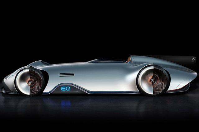 5. Mercedes Vision EQ Silver Arrow.