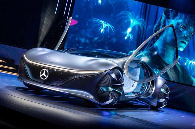 9. Mercedes Vision AVTR.