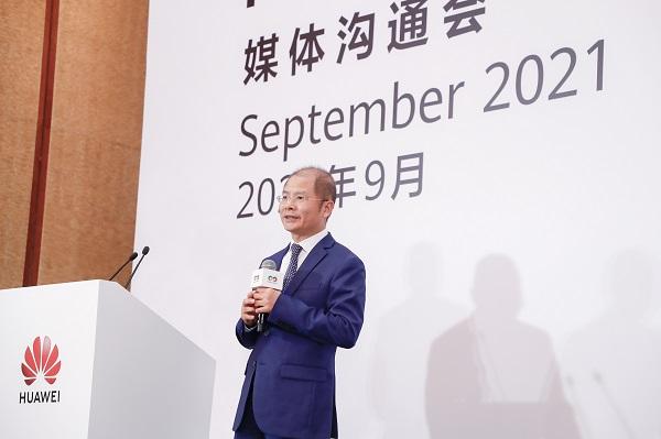 Chủ tịch luân phiên của Huawei Eric Xu.