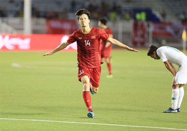 Hoàng Đức đang được Pathum United trải thảm đỏ mời sang Thái Lan chơi bóng - Ảnh: Đức Cường