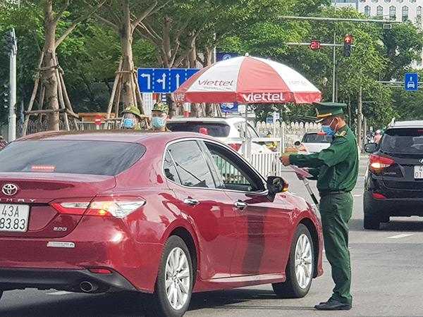 Đà Nẵng tiếp tục áp dụng Giấy đi đường QRCode từ ngày 26/9