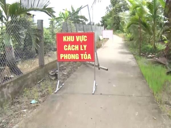 Phong tỏa toàn xã Long Phú dó liên quan đến ổ dịch phức tạp.
