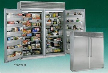 Chiếc tủ lạnh có giá tới gần 13.000 USD. Ảnh: Dvorsons