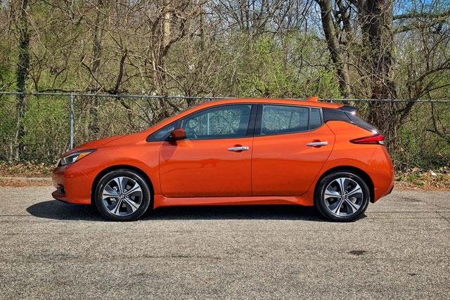 10. Nissan Leaf.