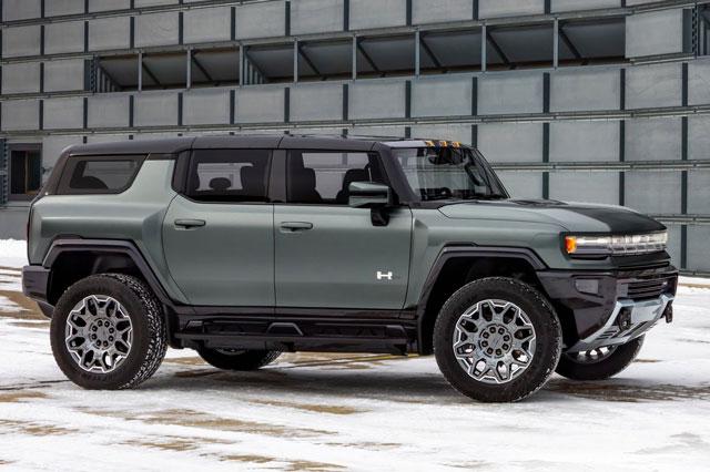 3. GMC Hummer EV SUV 2024.