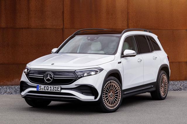 Xe điện Mercedes-Benz EQB và EQE chuẩn bị được phân phối chính hãng tại Việt Nam