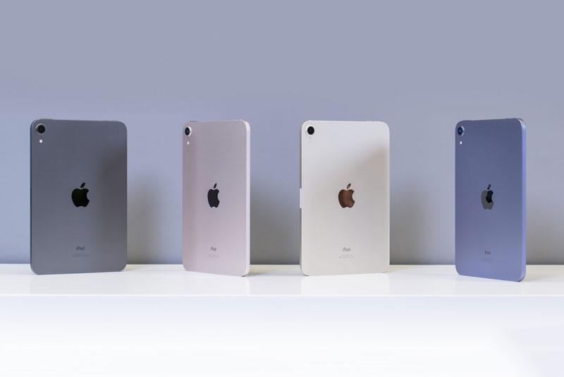 Mở hộp 4 màu sắc của iPad Mini 6 vừa lên kệ