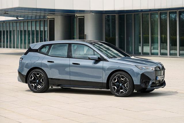 9. BMW iX 2022.