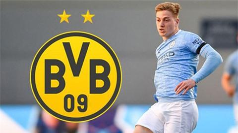 Man City từ chối đề nghị 15 triệu bảng của Dortmund cho Delap