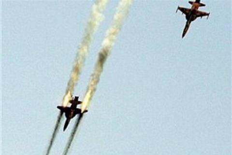 My lo F-35 bi F-5 Iran danh bai