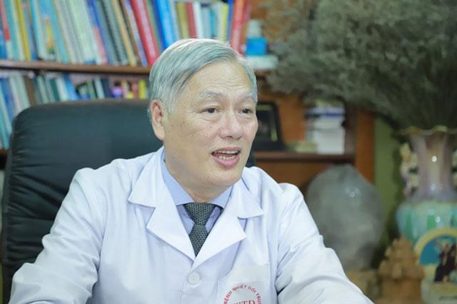 BSCKII Nguyễn Hồng Hà, Phó Chủ tịch Hội Truyền nhiễm Việt Nam. (Ảnh: KT)