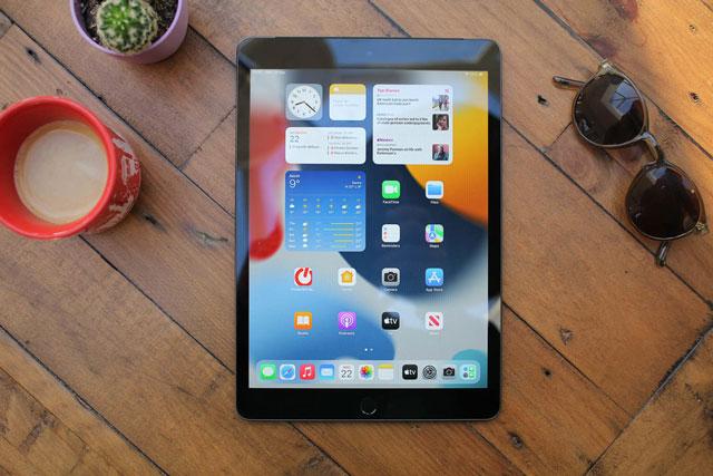 Màn hình của iPad thế hệ thứ 9. Ảnh: Pocket-lint.