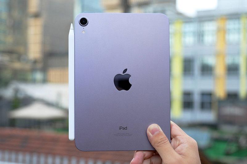 iPad Mini 6 có thiết kế ấn tượng.
