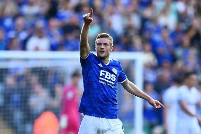Tiền đạo: Jamie Vardy (Leicester City).