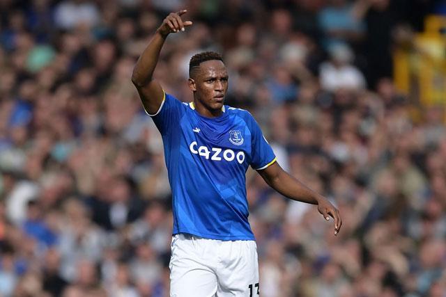Trung vệ: Yerry Mina (Everton).