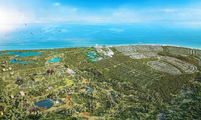 """Bà Rịa - Vũng Tàu: Tiếp tục rà soát quy mô diện tích đất, rừng tại """"siêu dự án"""" Safari Hồ Tràm"""