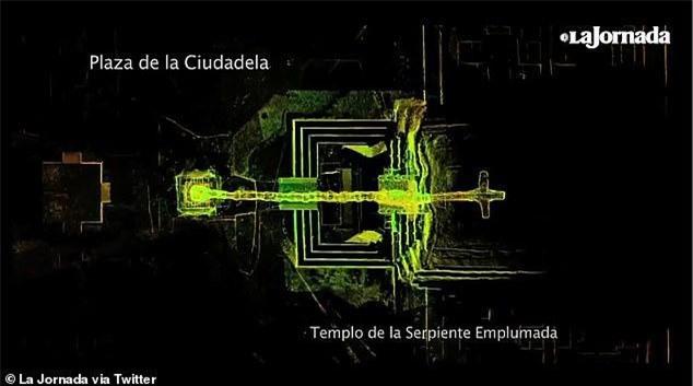 Phát hiện mới về đường hầm âm phủ trong lòng kim tự tháp ở Mexico ảnh 1