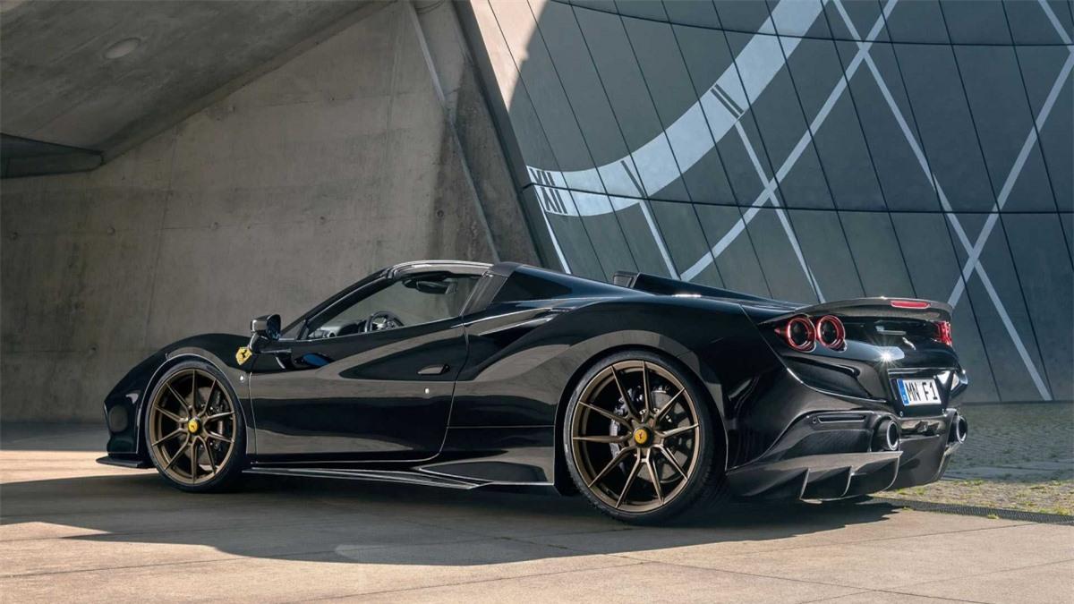 Ferrari F8 Spider ngầu hơn với gói độ của Novitec - Hình 2