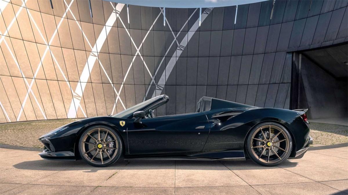 Ferrari F8 Spider ngầu hơn với gói độ của Novitec - Hình 3