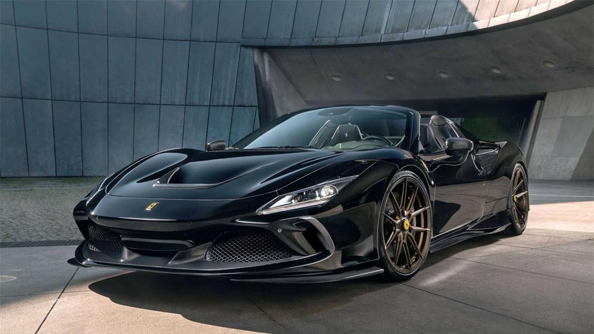 Ferrari F8 Spider ngầu hơn với gói độ của Novitec - Hình 5