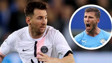 Trung vệ của Man City háo hức được đối đầu với Messi